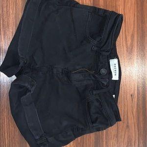 Black pacsun shorts